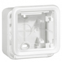 Накладная коробка 1 пост - Plexo Artci - белый