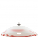 Люстра - Ideal Lux Nik SP1 Bianco E Rosso