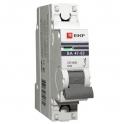 Автоматический выключатель - 1P C10А 4.5kA, ВА 47-63 EKF