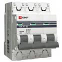 Автоматический выключатель - 3P C6А 4.5kA, ВА 47-63 EKF