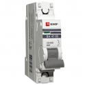 Автоматический выключатель - 1P C63А 6kA, ВА 47-63 EKF