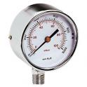 """Манометр для газа радиальный 1/4"""" 0.1 бар диаметр 64мм - Emmeti"""