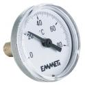Термометр биметаллический 0-80°С - Emmeti