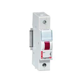 Моноблочный индикатор - 1 лампа, 1 модуль - красный