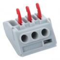Пружинный клеммник для 3 клемм - JSL Electro 24A, 450B