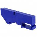 Изолятор на DIN-рейку - синий - EKF PROxima