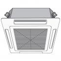 Кассетный фанкойл CA22 - мощ. охлаждения 2.45, мощ. отопления 5.83 - BPS Clima