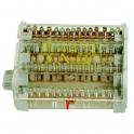 Модульный распределительный блок - 4P 160A 13 подключений - JSL Electro