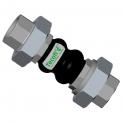 Компенсатор резиновый PN10, DN25 - Tecofi