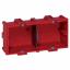 Коробка двухместная - Batibox - глубина 40 мм