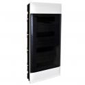 Распределительный щиток - Practibox S 72 модуля - прозрачная дверь