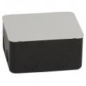 Монтажная коробка - 4 модуля - металл