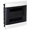 Распределительный щиток - Practibox S 36 модулей - прозрачная дверь