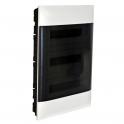Распределительный щиток - Practibox S 54 модуля - прозрачная дверь