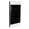 Распределительный щиток - Practibox S 48 модулей - прозрачная дверь