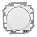 Диммер поворотный для LED ламп 5-215 Вт - Simon 15 - белый
