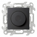 Диммер поворотно-нажимной 40-450 Вт - Simon 24 - графит