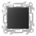 Карточный выключатель 6А 250В - Simon 24 - графит