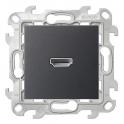 Коннектор HDMI v 1.4 - Simon 24 - графит