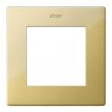 Рамка 1 пост - Simon 24 - золото