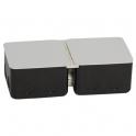 Монтажная коробка - 8 модулей - металл
