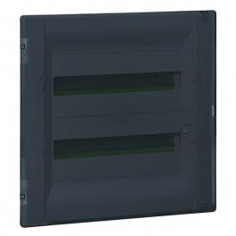 Распределительный щиток - Practibox³ 36 модулей - прозрачная дверь