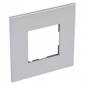Рамка 2 модуля - Arteor - Soft Aluminium