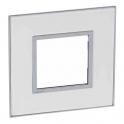 Рамка 2 модуля - Arteor - Mirror White