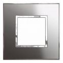 Рамка 2 модуля - Legrand Arteor - Reflective Stainless Steel