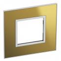 Рамка 2 модуля - Arteor - Reflective Gold