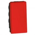 Выключатель одноклавишный - 1 модуль - Arteor - Red