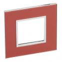 Рамка 2 модуля - Legrand Arteor - Mirror Red