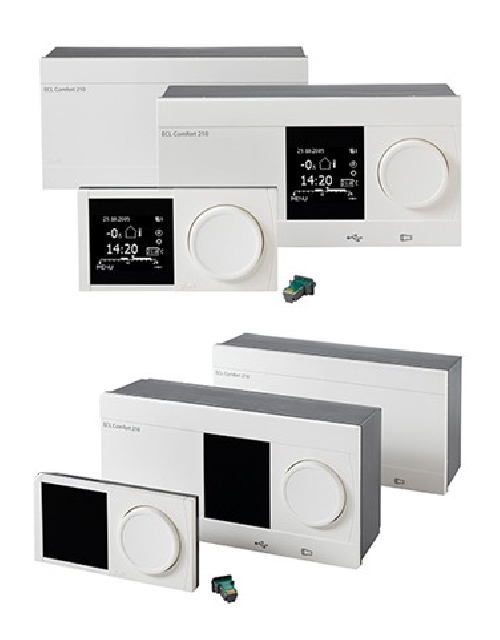 Heating stations electronic controllers