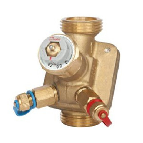 Combined balancing valves AB-QM
