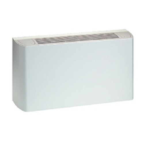 Vertical and floor fan coil units with lower air supply