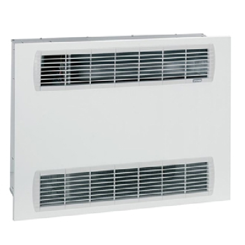 Wall-mounted fan coil units with front air supply