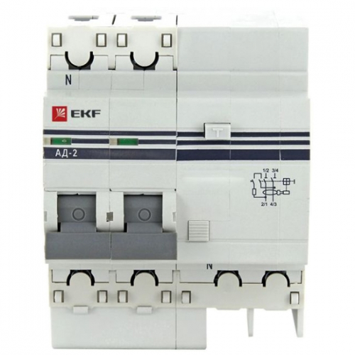 Automatic circuit breakers of differential current and RCD
