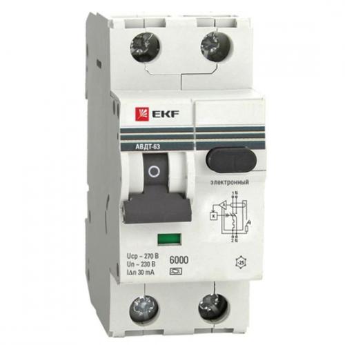 Differential Circuit Breakers RCCB EKF PROxima